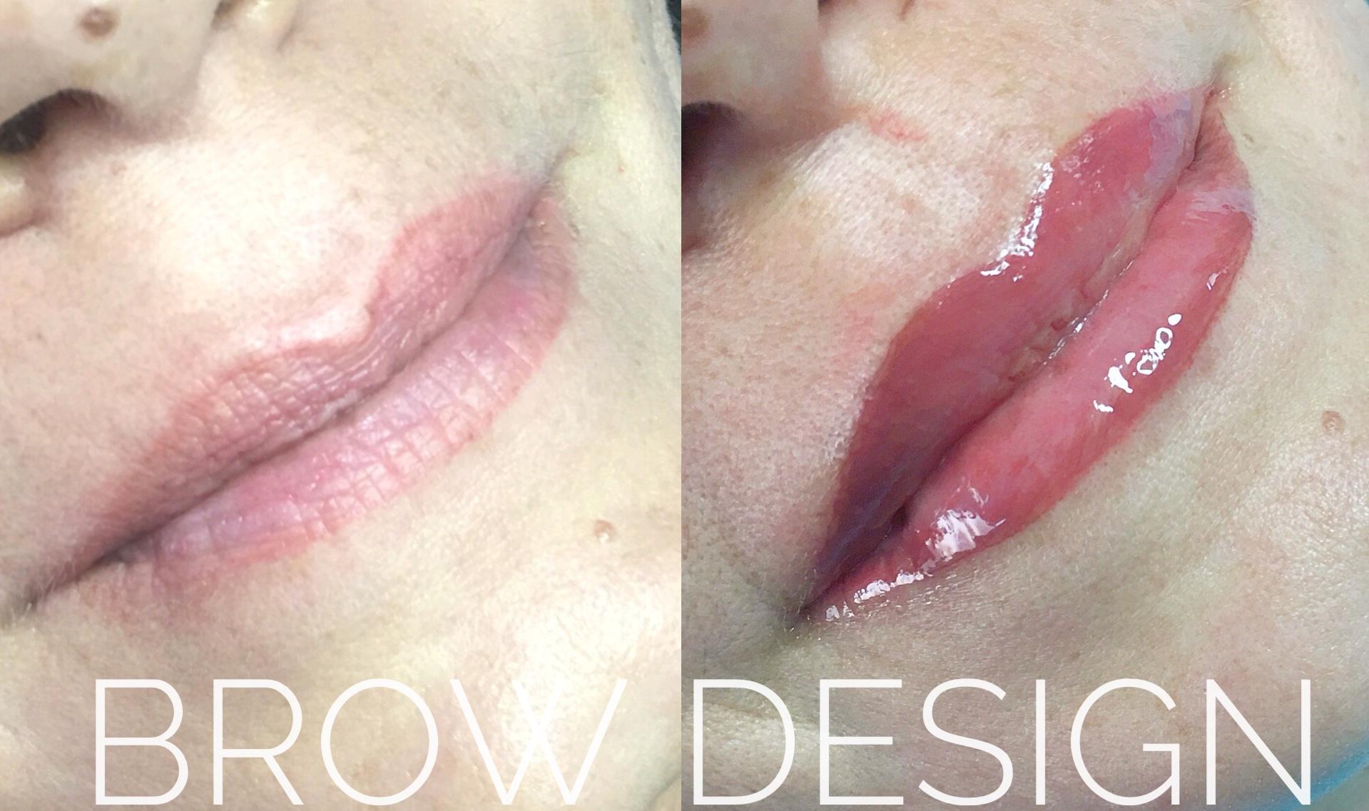 Semipermanete contorno labbra