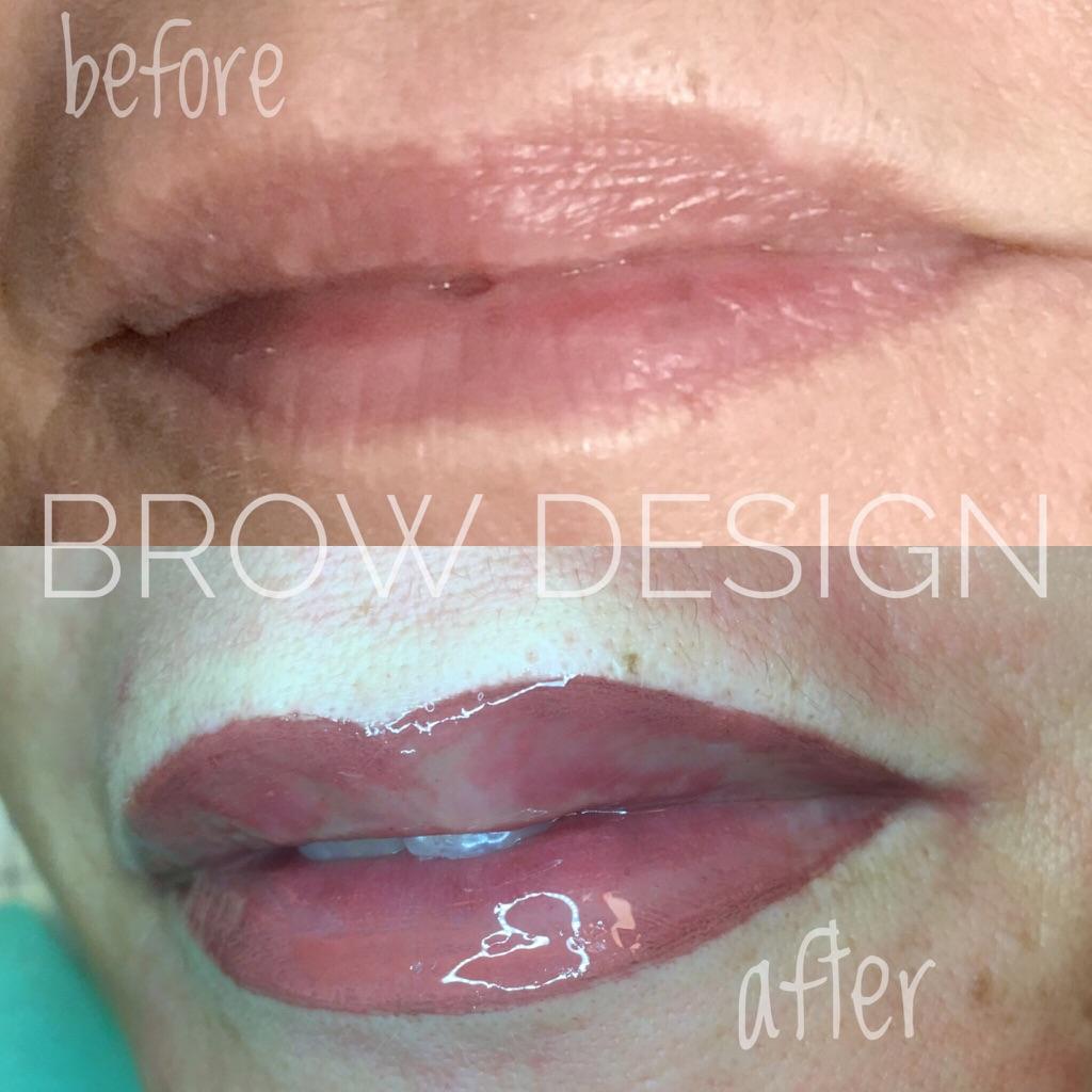 make up semipermanente labbra