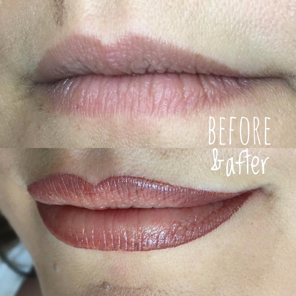makeup semipermanente labbra